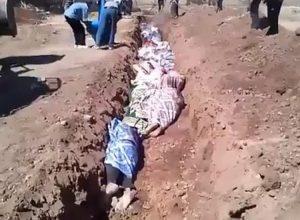 Βρήκαν 130 πτώματα ανταρτών σε ομαδικούς τάφους στη Συρία