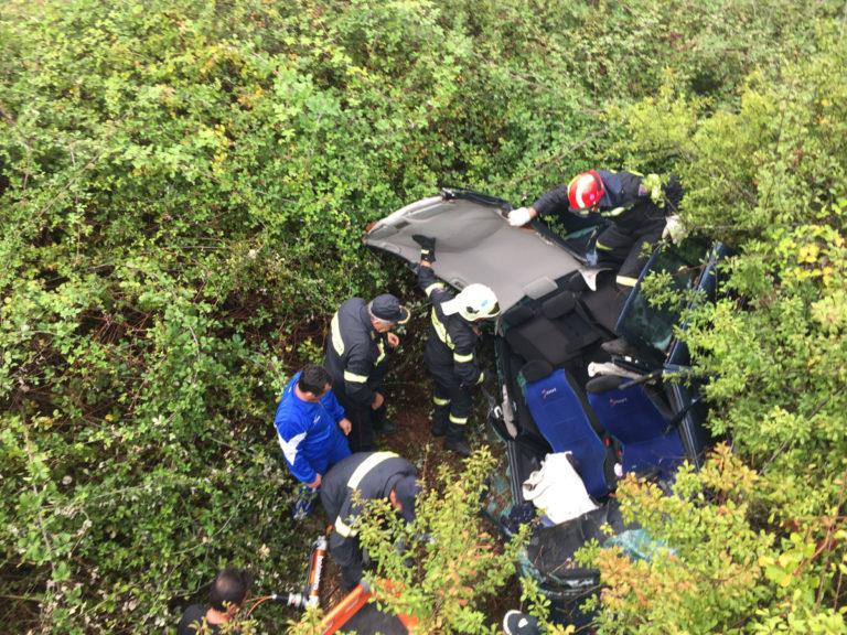 Τραγωδία στο Πήλιο: Έπεσαν με το αυτοκίνητο στον γκρεμό – Ένας νεκρός