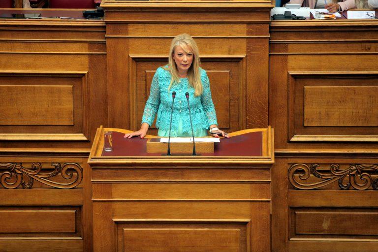 Τάνια Ιακωβίδου: Ο ΣΥΡΙΖΑ δεν ανήκει στο δημοκρατικό τόξο