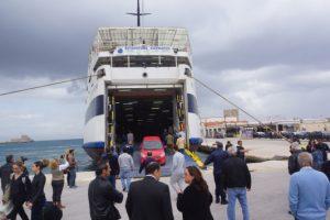 Απέπλευσε το Βιντσέντζος Κορνάρος μετά την πρόσκρουση στο λιμάνι της Κάσου