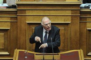 Λεβέντης: Δεν στηρίζω την κυβέρνηση ούτε σε Grexit