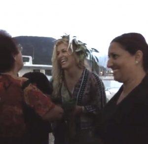 Η Ελληνοαμερικανίδα Ολυμπιονίκης Ελεν Μαρούλις ενθουσιώδης στον Κάλαμο [vid]