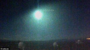 Σείστηκε η Γη! Πτώση τεράστιου φλεγόμενου μετεωρίτη με 45.000 μίλια/ώρα [vid]