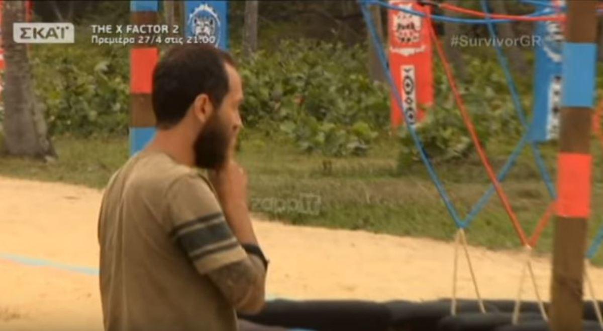 Survivor: Η κίνηση του Αναγνωστόπουλου και ο εκνευρισμός του με τον Σπαλιάρα [vid]