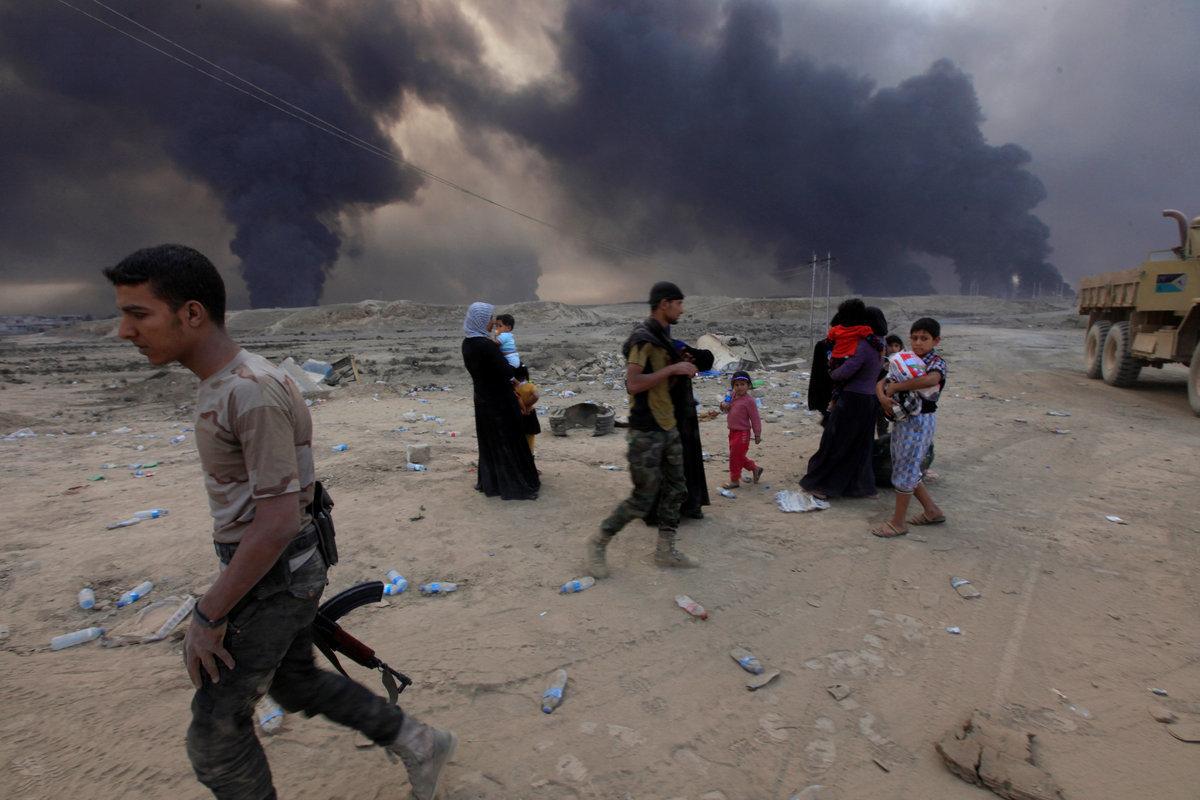 Οι τζιχαντιστές οργανώνουν αιμοτοκύλισμα στη Μοσούλη! Αέρια μουστάρδας, βόμβες και 1 εκατ. πολίτες για ανθρώπινες ασπίδες