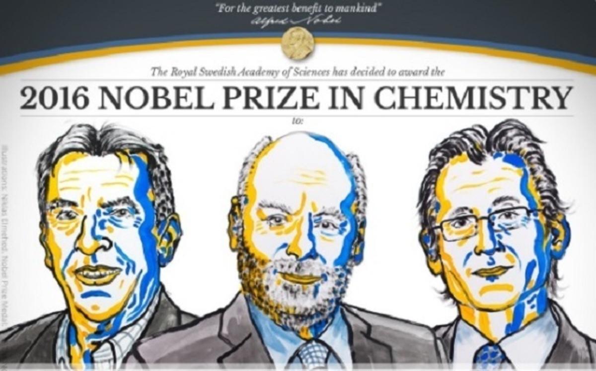"""""""Τριπλό"""" και το Νόμπελ Χημείας για το 2016 – Αυτοί είναι οι νικητές [vids]"""
