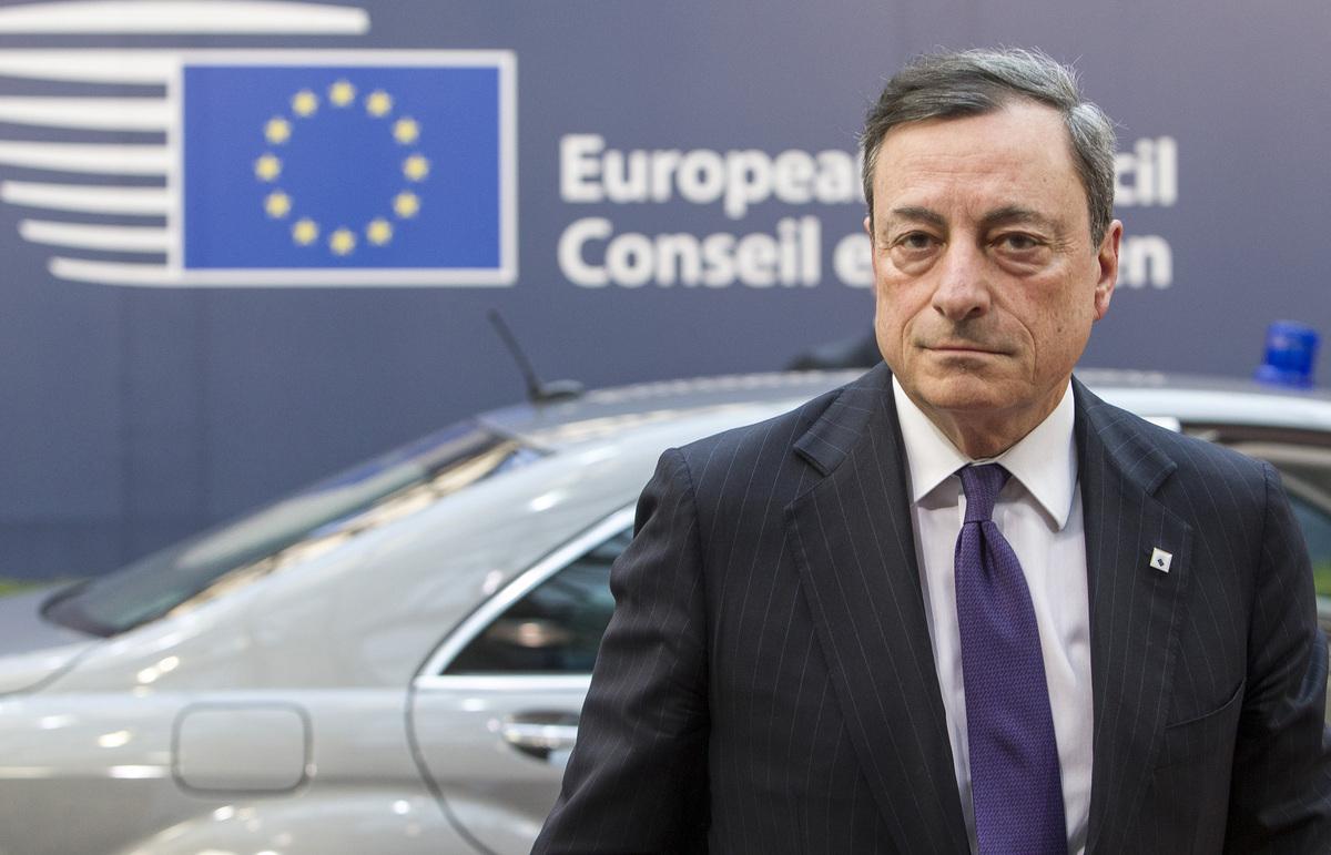 Αισιόδοξος ο Ντράγκι για τις προοπτικές ανάπτυξης της Ευρωζώνης