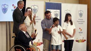 Παραολυμπιακοί Αγώνες: Δύο παιδικά χαμόγελα στο Ρίο με πρωτοβουλία του ΟΠΑΠ