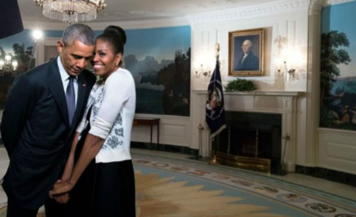 """Μπαράκ και Μισέλ Ομπάμα: """"Λιώνουν"""" ο ένας για τον άλλον [pics]"""