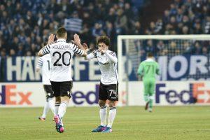 """Σάλκε – ΠΑΟΚ: """"Αποχαιρέτησε"""" με… ψηλά το κεφάλι το Europa League"""
