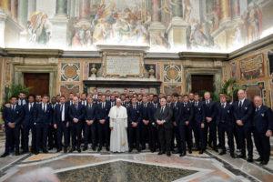 Γιουβέντους και Λάτσιο πήραν την ευλογία του Πάπα Φραγκίσκου! [pics, vid]