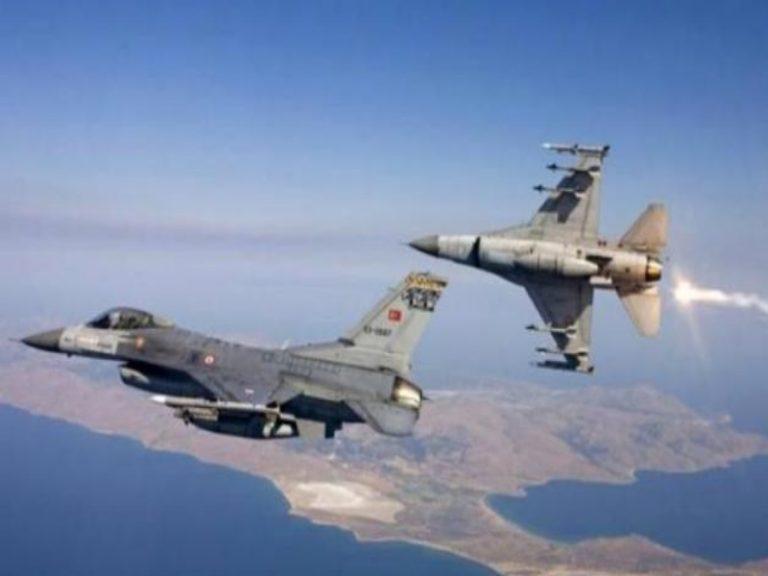 Σωρεία παραβιάσεων από την τουρκική Αεροπορία μετά το χθεσινό… ρεπό