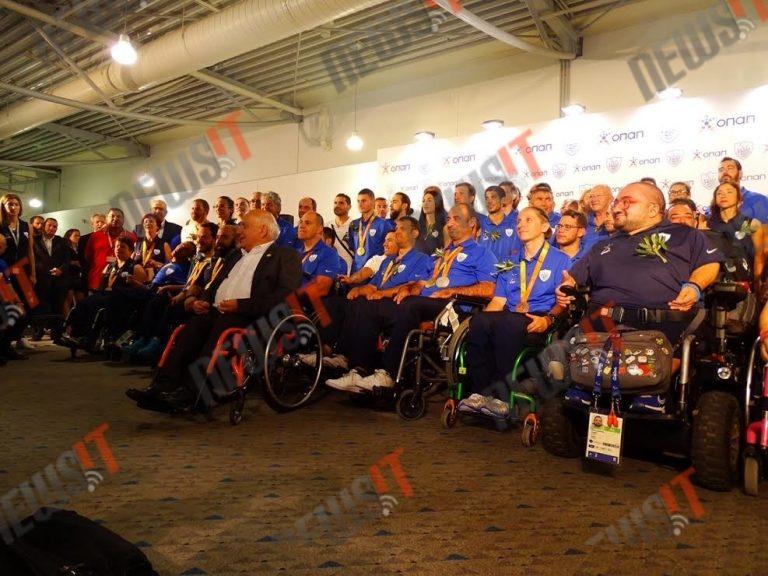Παραολυμπιακοί 2016: Επέστρεψε στην Ελλάδα η πιο… δυνατή ομάδα [pics, vid]