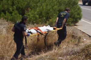 Θρίλερ με απανθρακωμένο πτώμα στη Λευκάδα