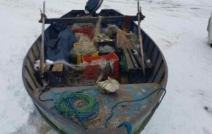 Ψάρεψαν παράνομα 210 κιλά ψαριών από τη λίμνη της Μεγάλης Πρέσπας!