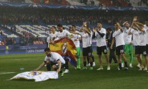 "Champions League: Άπλωσαν τη σημαία της Ρεάλ στο ""Βιθέντε Καλντερόν""!"