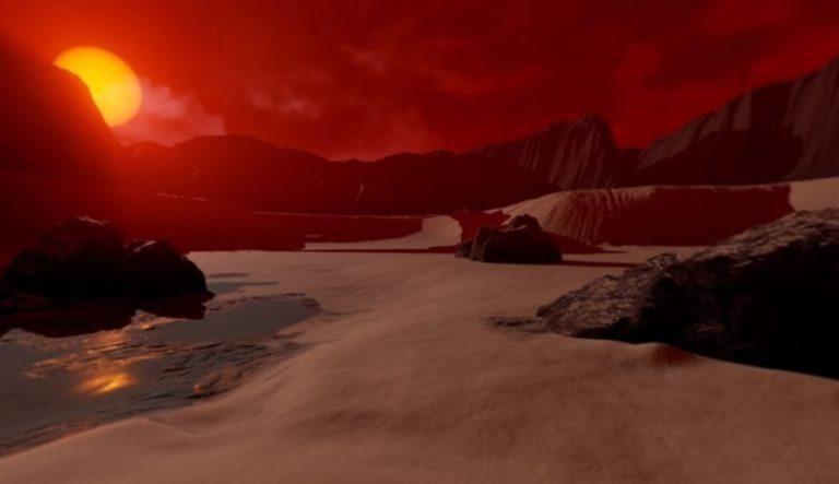 """Εκπληκτικό βίντεο 360ᵒ! Περιπλανηθείτε στο """"αδελφάκι"""" της Γης"""