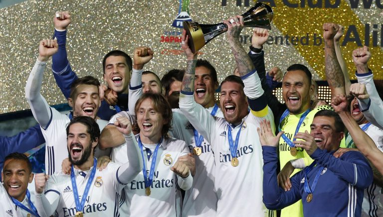 Ρεάλ Μαδρίτης: Παγκόσμια πρωταθλήτρια… με την ψυχή στο στόμα! [vid, pics]