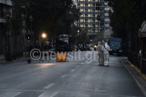 Βόμβα στο υπουργείο Εργασίας – Άνοιξε η οδός Σταδίου – Τι βλέπει η Αντιτρομοκρατική