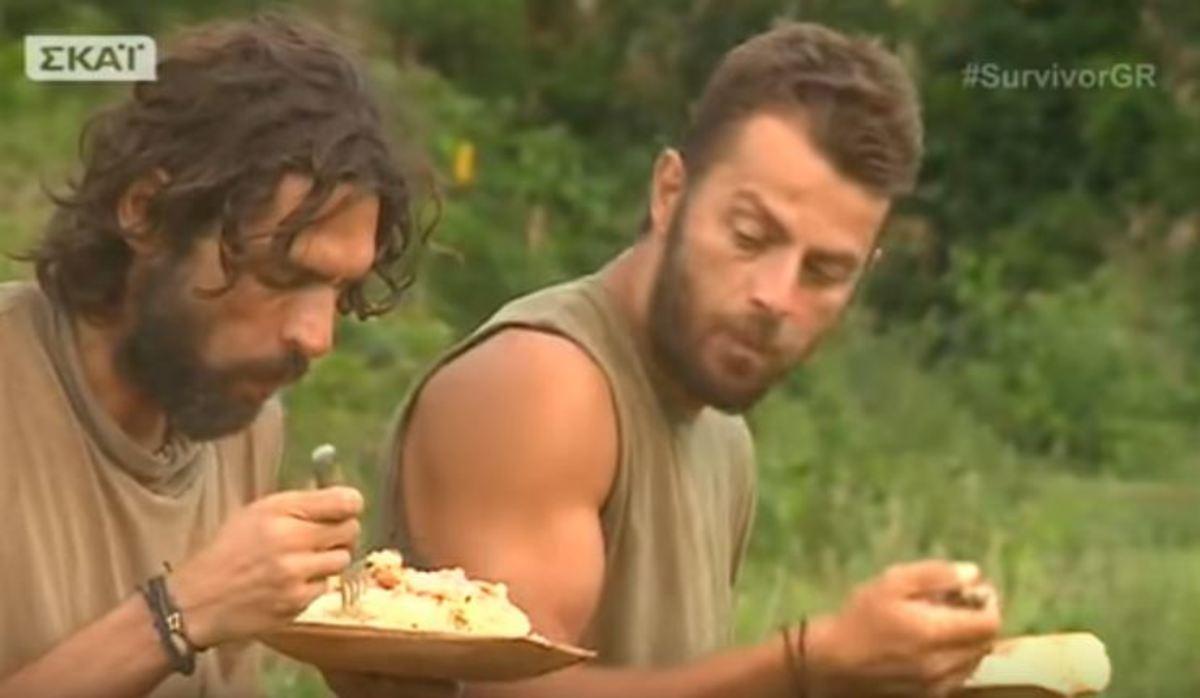 Survivor: Η…ιερή στιγμή φαγητού για τους Διάσημους [vid]