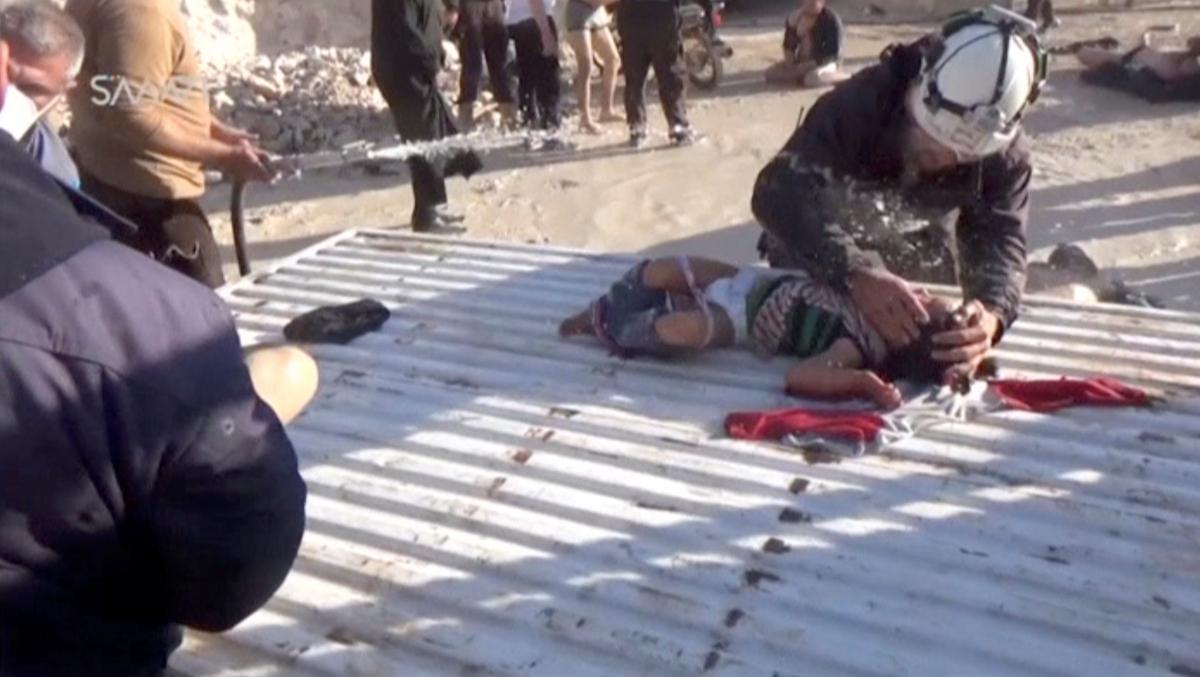 Επίθεση στη Συρία: Έκθεση στο αέριο σαρίν δείχνει η εξέταση των θυμάτων