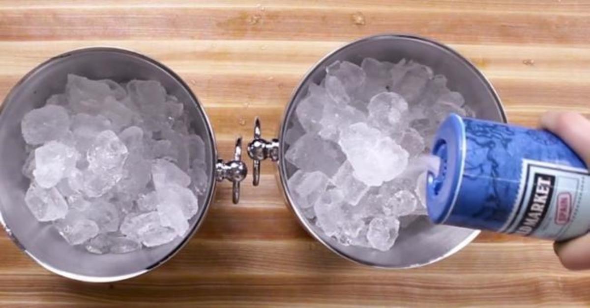 Πώς να παγώσετε ένα ζεστό μπουκάλι μέσα σε 5 λεπτά!