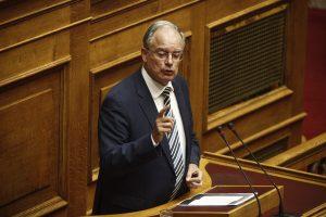 """ΝΔ: """"Φαγώθηκε"""" ο Τασούλας μετά το """"όχι"""" στην άρση ασυλίας Νικολόπουλου"""