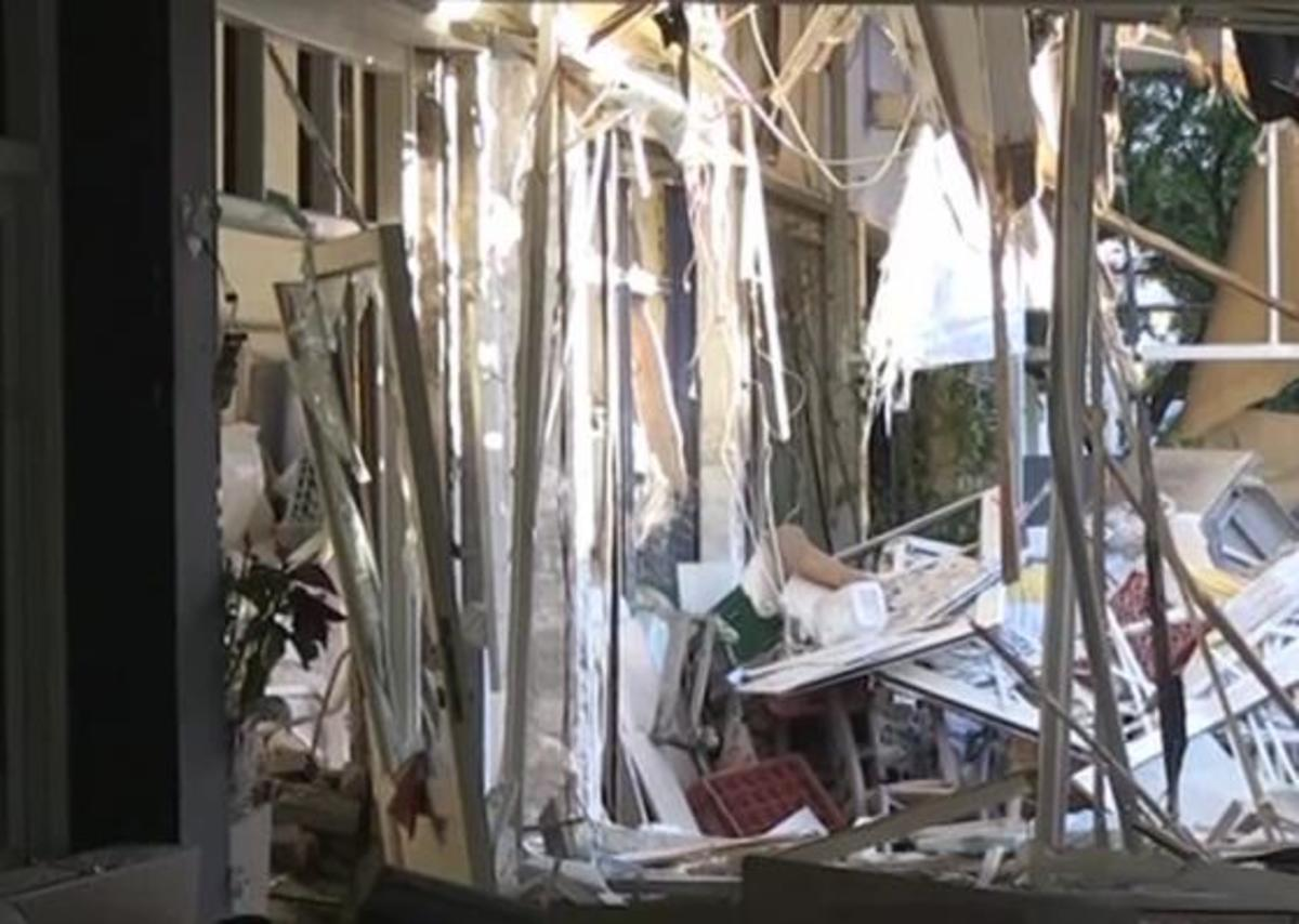 Τεράστια έκρηξη στη Ν. Ερυθραία – Ισοπεδώθηκε κατάστημα