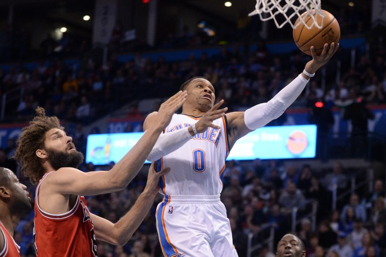NBA: Εκπληκτικός! Μια ομάδα… μόνος του ο Γουέστμπρουκ [vid]