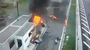 Τροχαίο Αθηνών – Λαμίας: Στοιχεία – φωτιά στο δρόμο – Ξεκινούν οι καταθέσεις μαρτύρων