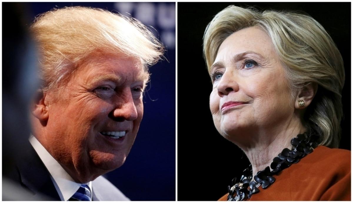 """Εκλογές ΗΠΑ: Κλείνει η """"ψαλίδα""""! 1,7% προηγείται η Κλίντον"""