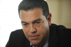 Στον πρωθυπουργό Αλέξη Τσίπρα η Ολυμπιακή ομάδα