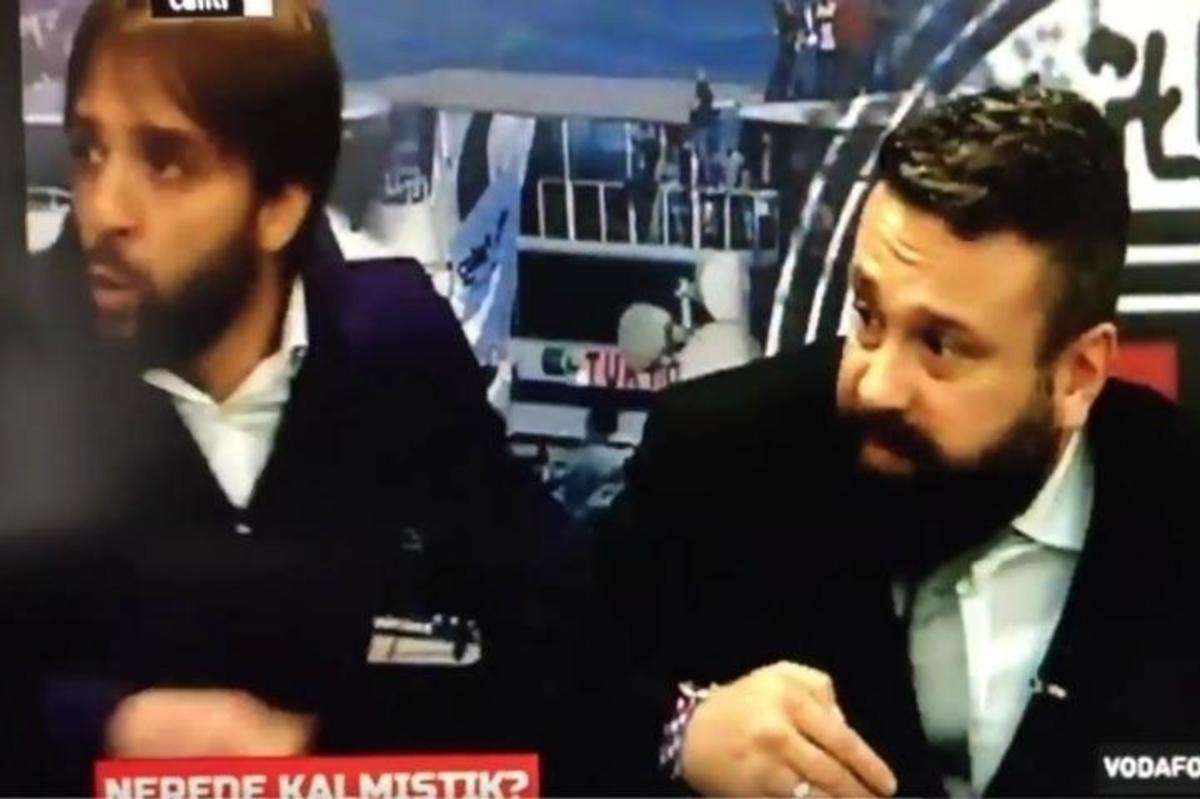 Τουρκία: LIVE η στιγμή της έκρηξης στο Besiktas TV! [vid]