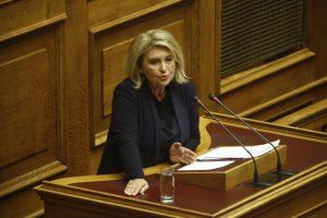 """Επίθεση Βούλτεψη σε ΣΥΡΙΖΑ: """"Εσείς φέρατε το ΔΝΤ"""""""