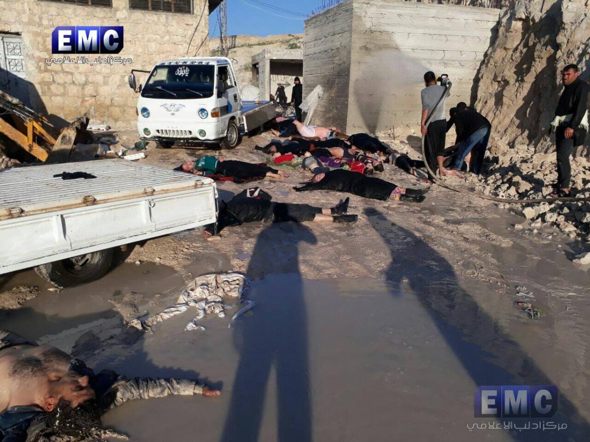 Συρία: Η Μόσχα λέει ότι τα χημικά ήταν των ανταρτών!