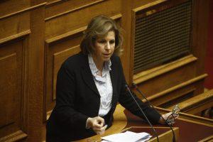Χριστοφιλοπούλου: Φύγετε γιατί η παραμονή σας βλάπτει σοβαρά την χώρα!