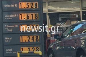 Τιμές καυσίμων: Αγγίζει τα 2 ευρώ η αμόλυβδη βενζίνη – Αναλυτικοί πίνακες [pics]