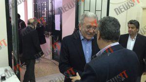 Εκλογές ΝΔ: Ψήφισε κι… έφυγε ο Αβραμόπουλος