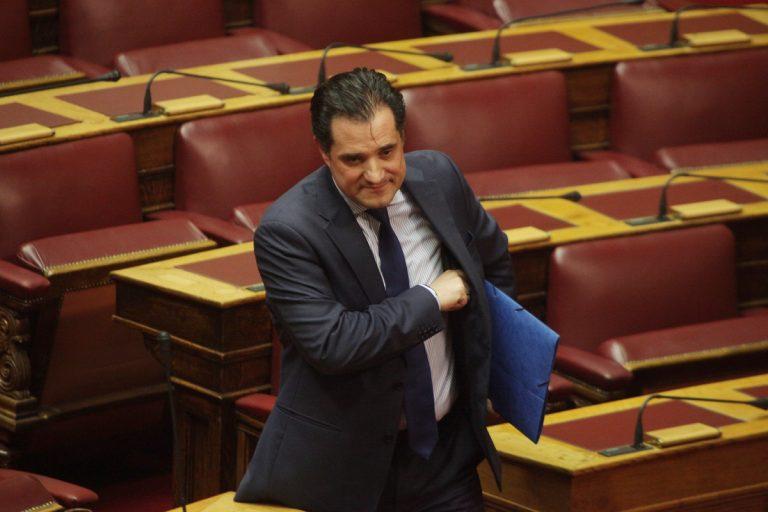 Άδωνις Γεωργιάδης: Ο κ. Τσίπρας κάνει την εξεταστική μόνο για εμένα