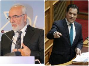 """Άδωνις εναντίον Ιβάν! """"Δε θα ρωτήσουμε τον Σαββίδη για να γίνει πρωθυπουργός ο Μητσοτάκης""""! [vid]"""