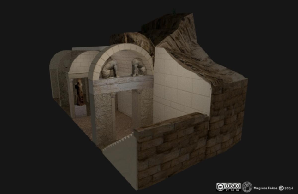 Αμφίπολη: Ο αρχαίος τάφος σε… 3D! Ξεναγηθείτε στα μυστικά του τύμβου