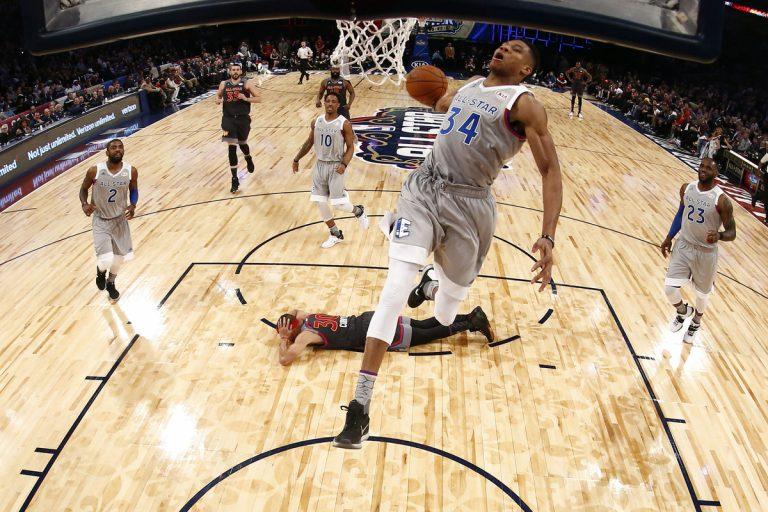 NBA: Τζάμπολ στο 70ο All Star Game απόψε στην Ατλάντα