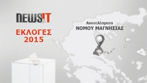 Αποτελέσματα Εκλογών 2015: Νομός Μαγνησίας