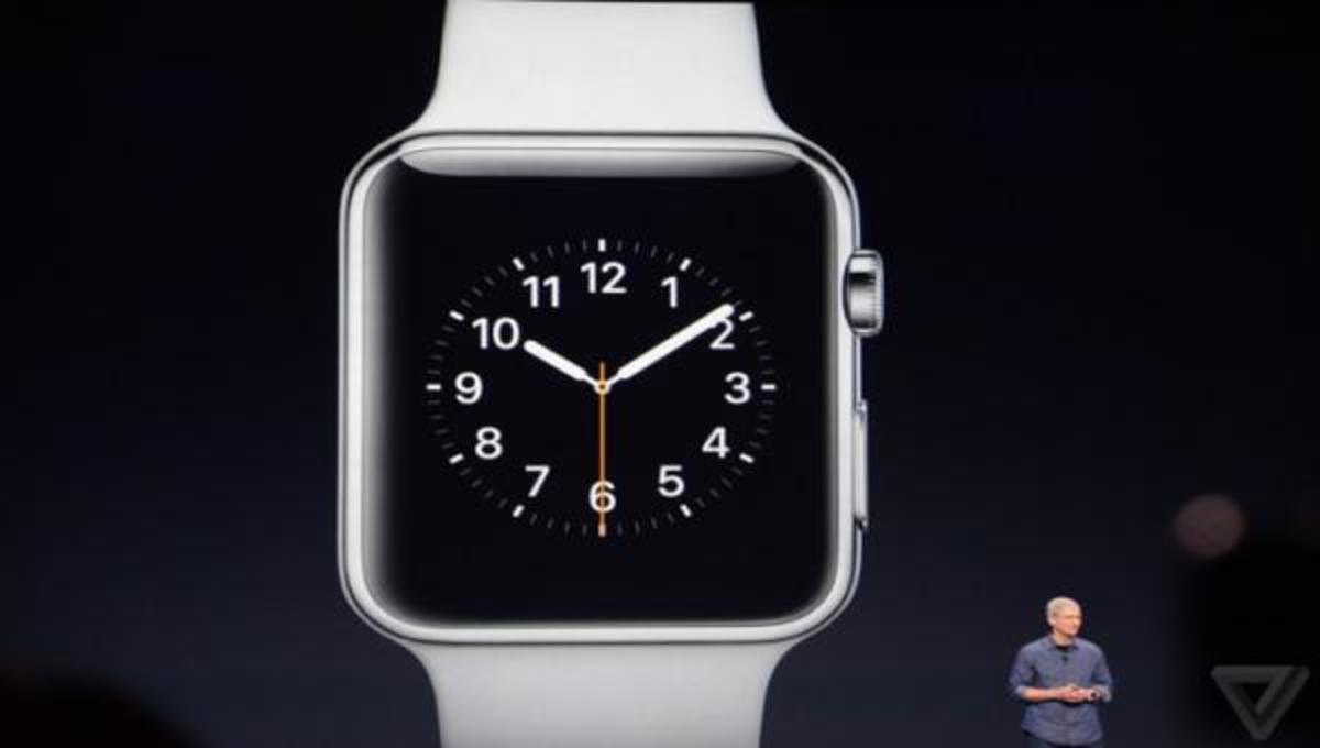 Αυτό είναι το Apple Watch!