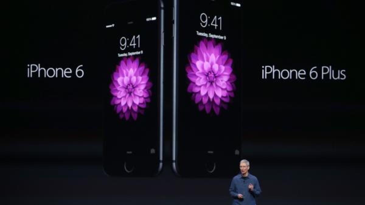 Η Apple παρουσίασε το iPhone 6 και το iPhone 6 Plus