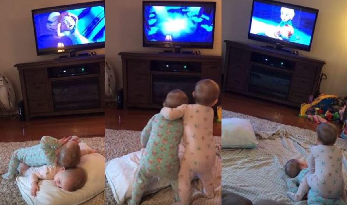 Θα τα λατρέψετε! Αυτά τα δύο πιτσιρίκια αναπαριστούν την ταινία Frozen [vid]