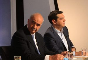 "Debate πολιτικών αρχηγών – Μεϊμαράκης σε Τσίπρα: ""Γιατί βάζεις τον Πάνο να κάνει τη βρώμικη δουλειά;"""