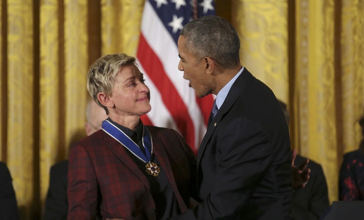 Πόρτα στην Ellen DeGeneres από τον Λευκό Οίκο [pic,vid]