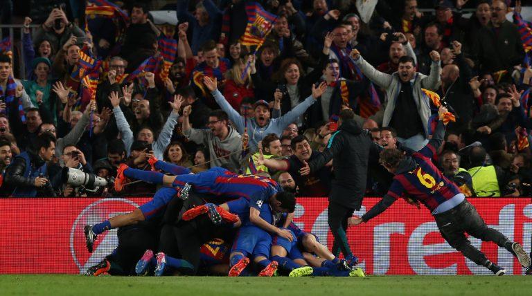 """Μπαρτσελόνα – Παρί: Δεν ξανάγινε! Ποδοσφαιρικό """"θαύμα"""" από τους Καταλανούς με 3 γκολ στο φινάλε"""