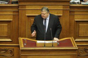 Ο Ε. Βενιζέλος στη Βουλή: Ανεπαρκής η προστασία των δανειοληπτών
